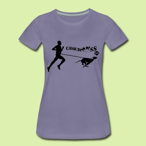 CANICROSS - T-shirt Premium Femme