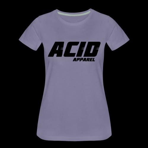 Acid Apparell Logo - Frauen Premium T-Shirt