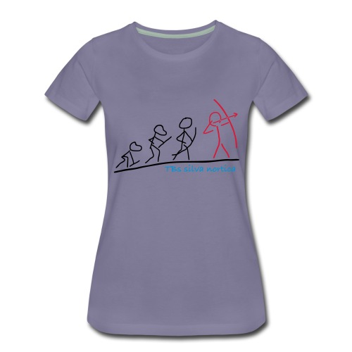 Evolution TBs silva nortica - Frauen Premium T-Shirt