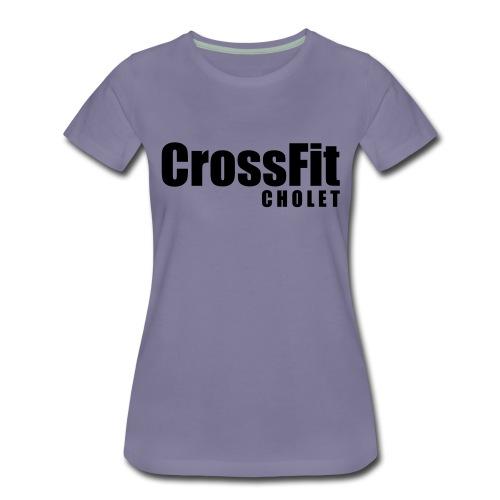 Crossfit Cholet - T-shirt Premium Femme