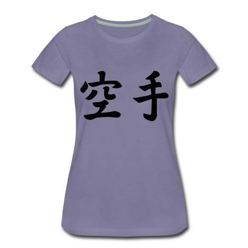 karate - Vrouwen Premium T-shirt