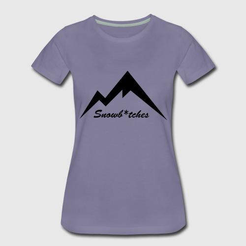 Mountains Logo (W) - Women's Premium T-Shirt