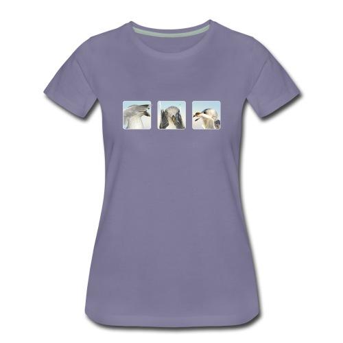 nichts sehen, nichts hören, nichts sagen - Frauen Premium T-Shirt