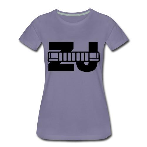 Jeep ZJ grill - Women's Premium T-Shirt