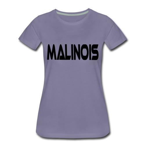 malinoisschrift1 - Frauen Premium T-Shirt