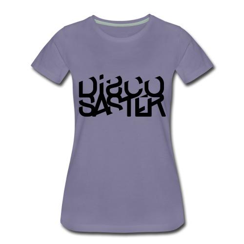 Discosaster Typo - Frauen Premium T-Shirt