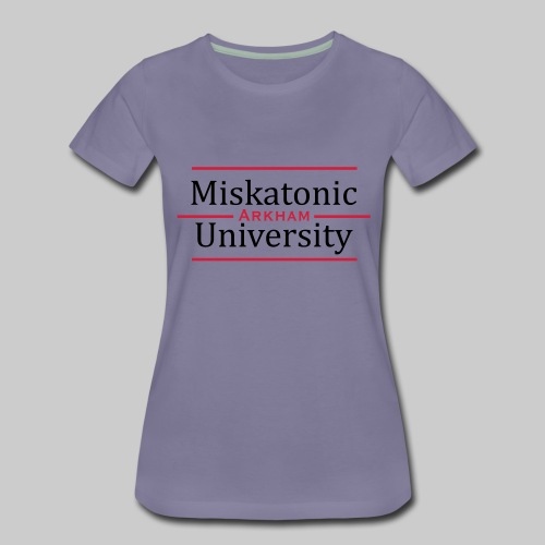 Miskatonic University - Frauen Premium T-Shirt