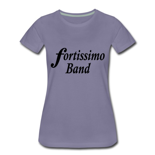 ff logo zweizeilig - Frauen Premium T-Shirt