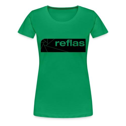 Reflas Clothing Black/Gray - Maglietta Premium da donna