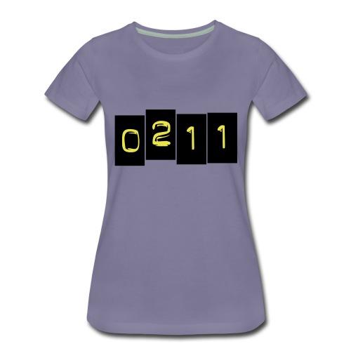 0211 2 - Frauen Premium T-Shirt