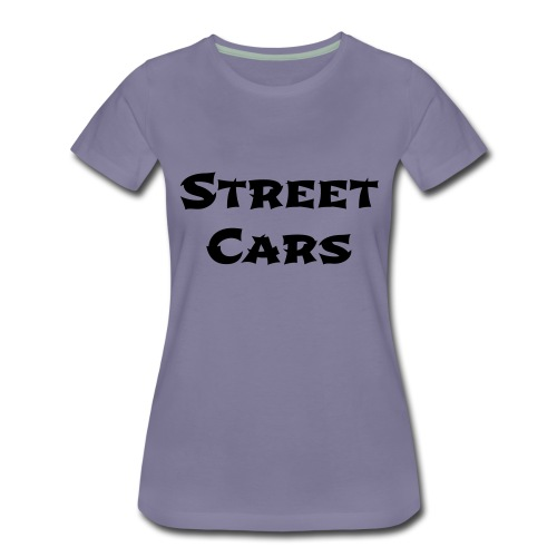 Street Cars 2 - Vrouwen Premium T-shirt