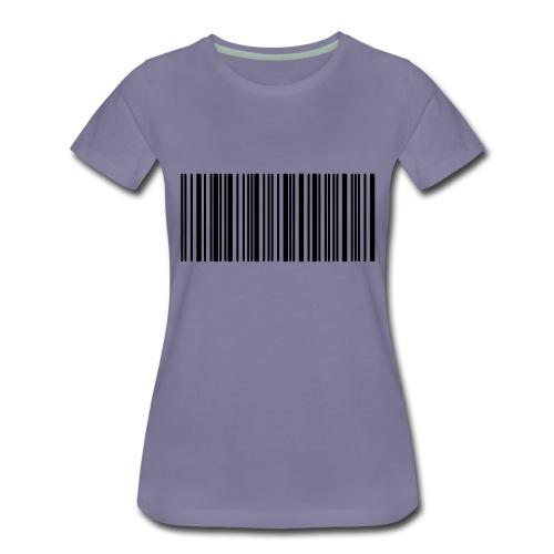 Laurent Barcode - T-shirt Premium Femme