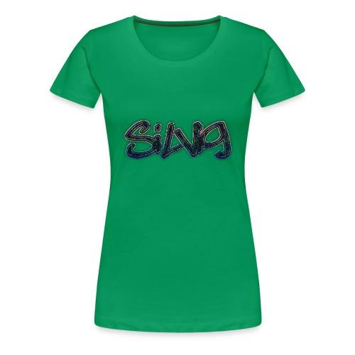 SilViG logo limited - Dame premium T-shirt