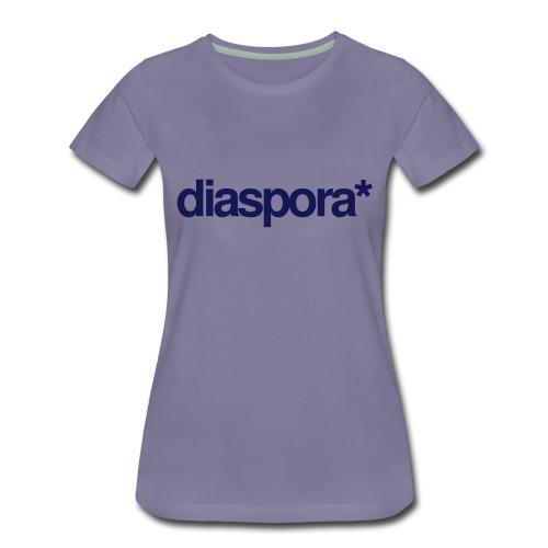 diaspora_one_color - Frauen Premium T-Shirt
