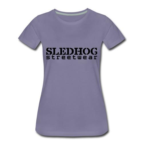 Sledhog-streetwear_layers - Naisten premium t-paita