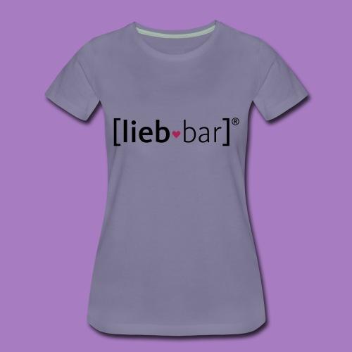 liebbar_vektorgrafik - Frauen Premium T-Shirt