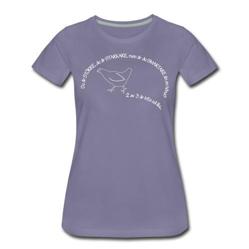 your bigger - Premium-T-shirt dam