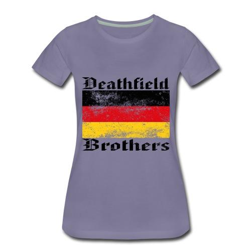 42/19-Q3_Deutsch|-B- - Frauen Premium T-Shirt
