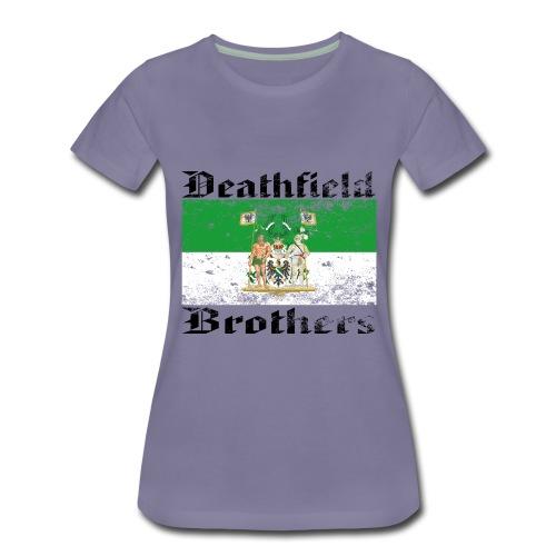 42/19-Q3_Rhineland|-B- - Frauen Premium T-Shirt