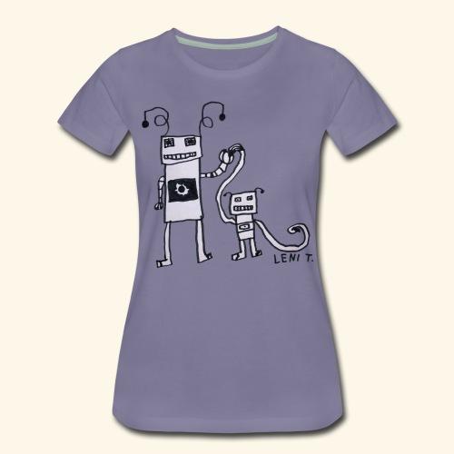 LeniT Parenthood - Naisten premium t-paita