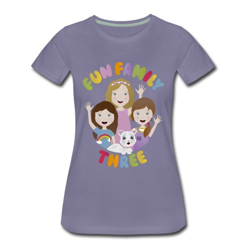 Fun Family Three Logo - Women's Premium T-Shirt