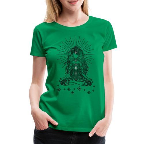 Boho Yoga Mädel Happy Life - Frauen Premium T-Shirt