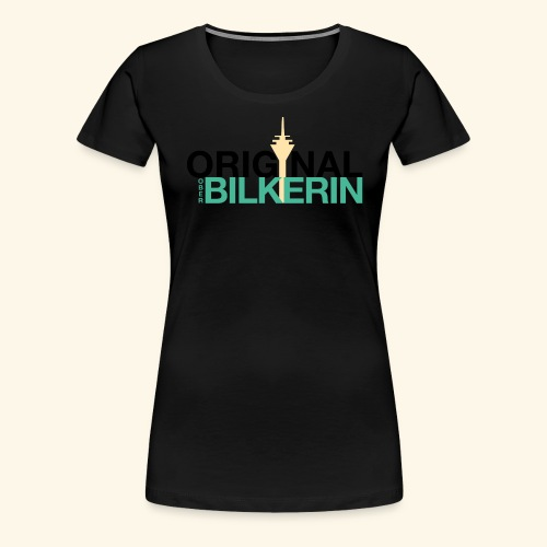 Original Oberbilkerin - Frauen Premium T-Shirt