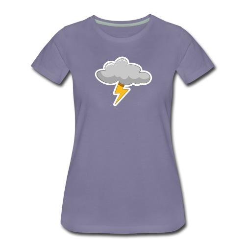 Dansk sommervejr 1 - Dame premium T-shirt