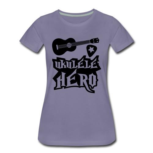Ukelele Hero - Women's Premium T-Shirt