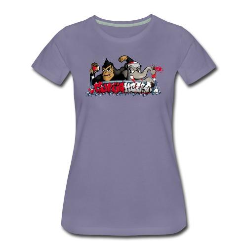 Cupfighters Rotterdam - Vrouwen Premium T-shirt