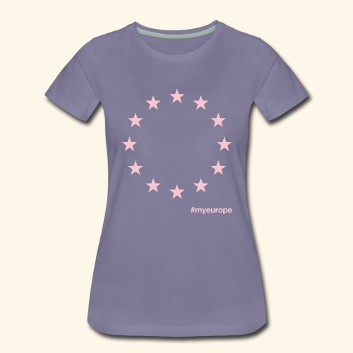 #myeurope rose - Frauen Premium T-Shirt