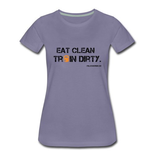 eat clean - Premium-T-shirt dam