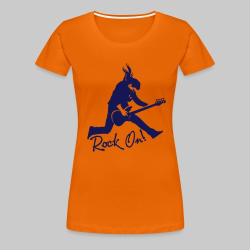 Rock On Nr. 2 - Frauen Premium T-Shirt