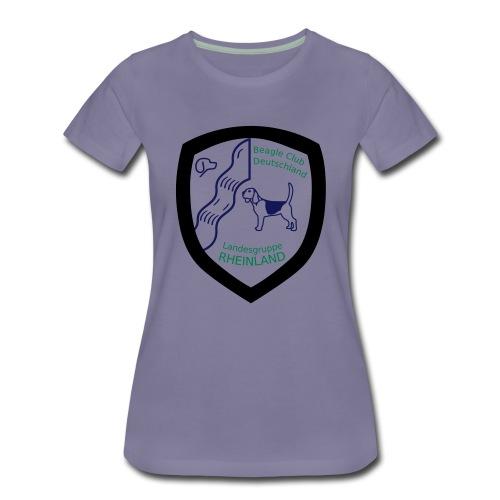 LG R Wappen drei farbig NEU - Frauen Premium T-Shirt