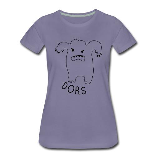 Le Monstre du Dormir - T-shirt Premium Femme