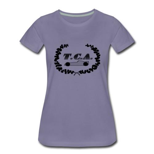 tcalogo schwarz - Frauen Premium T-Shirt