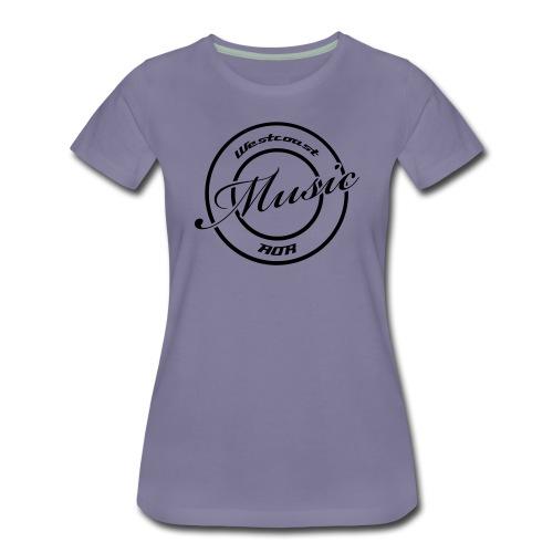 Westcoast/AOR Music - Women's Premium T-Shirt