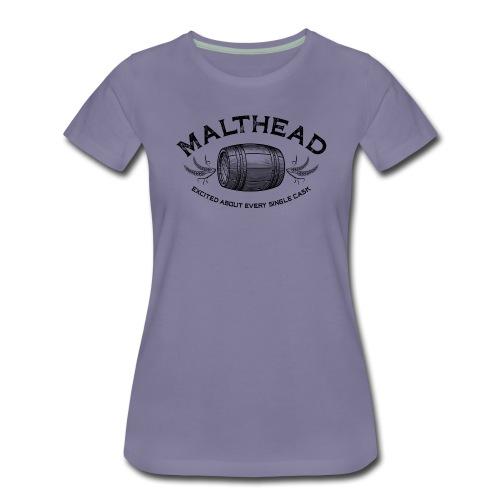 Malthead 01 Dark - Frauen Premium T-Shirt