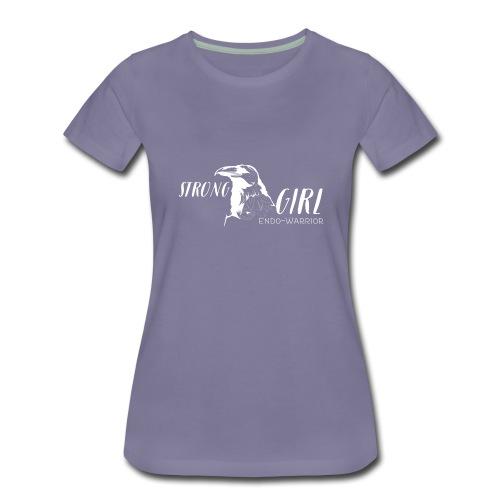 Strong Girl Endo-Warrior - Frauen Premium T-Shirt
