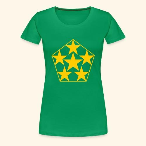 5 STAR gelb - Frauen Premium T-Shirt