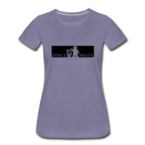 space waste logo vector - Frauen Premium T-Shirt