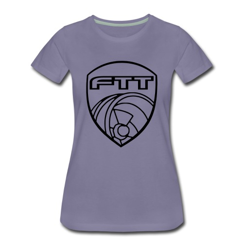 FTT Turbowappen 2k15 - Frauen Premium T-Shirt