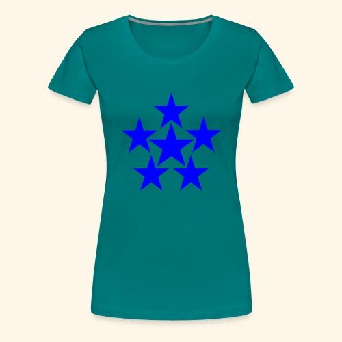5 STAR blau - Frauen Premium T-Shirt