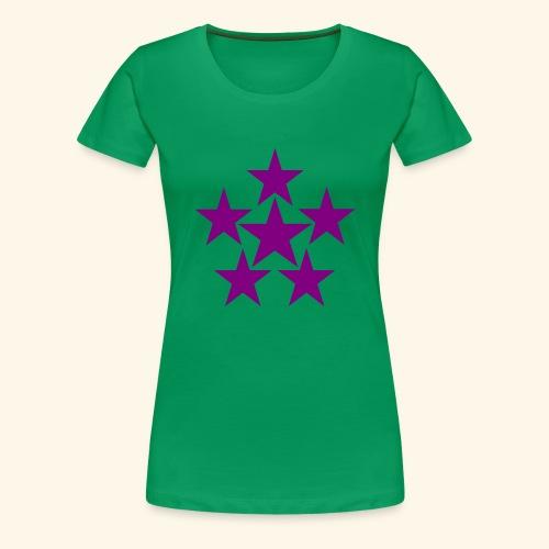 5 STAR lilla - Frauen Premium T-Shirt