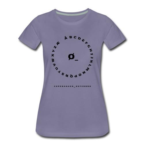 Østerbro - Dame premium T-shirt