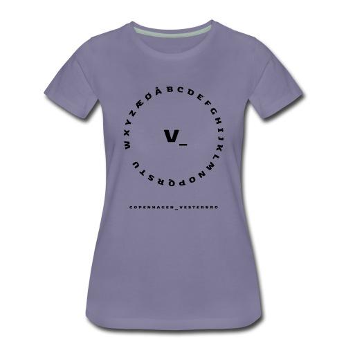 Vesterbro - Dame premium T-shirt