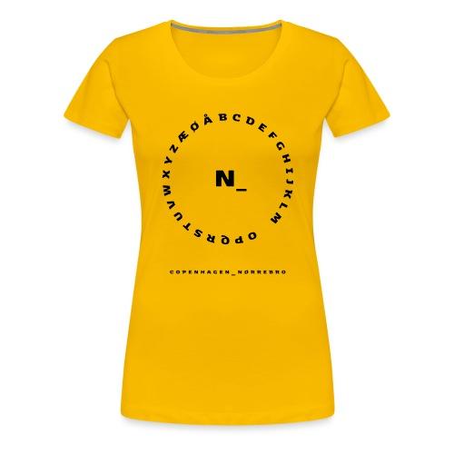 Nørrebro - Dame premium T-shirt