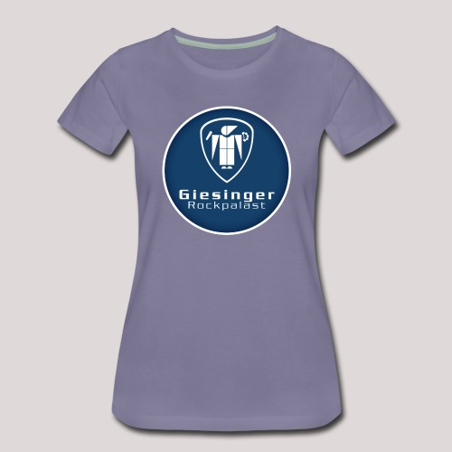 circlelogo_blue_bright_be - Frauen Premium T-Shirt