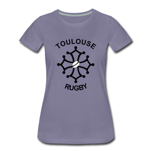 Toulouse Rugby - T-shirt Premium Femme