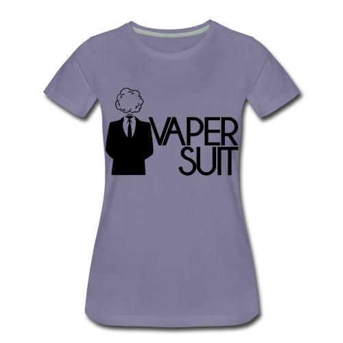 VAPER SUIT - Koszulka damska Premium